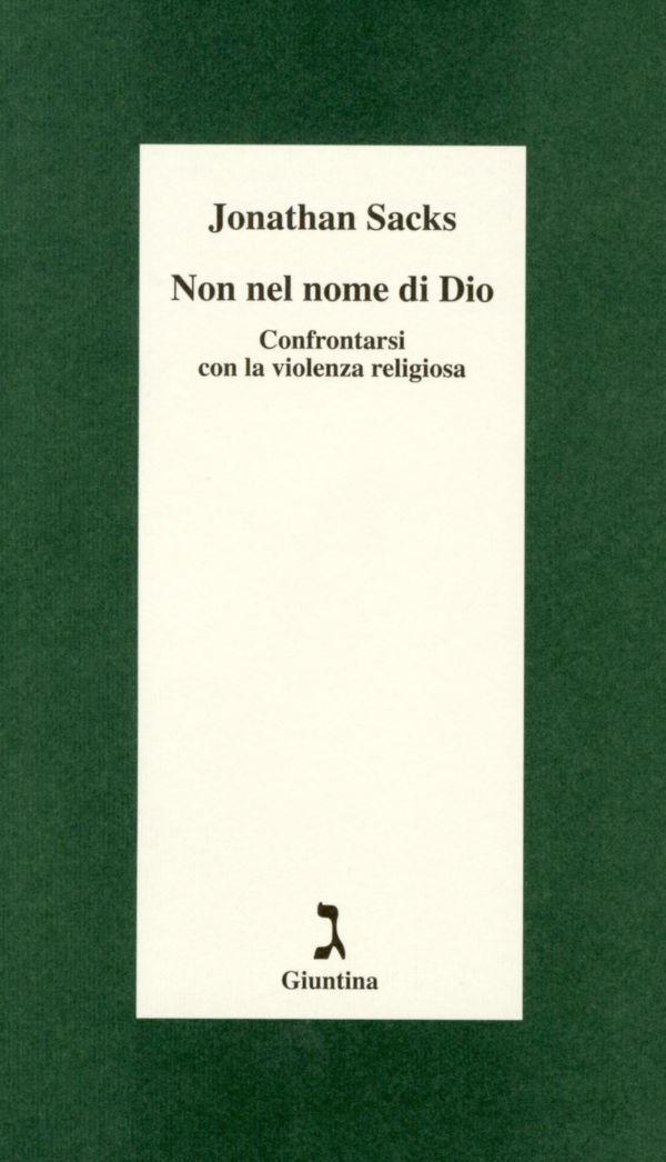 Non nel nome di Dio - Jonathan Sacks