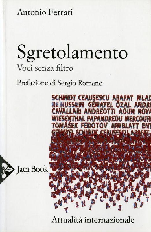 Sgretolamento - Antonio Ferrari