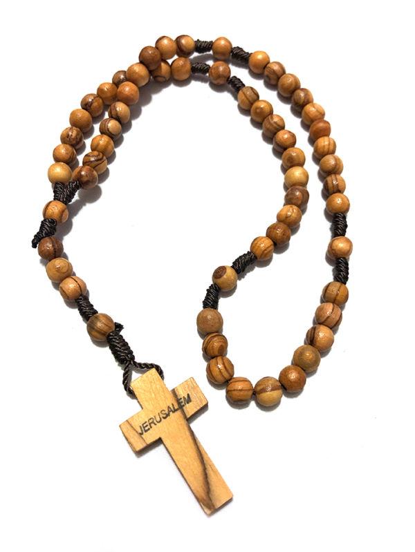 Rosario con croce latina
