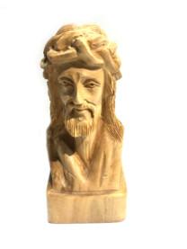 Testa di Cristo su base quadrata