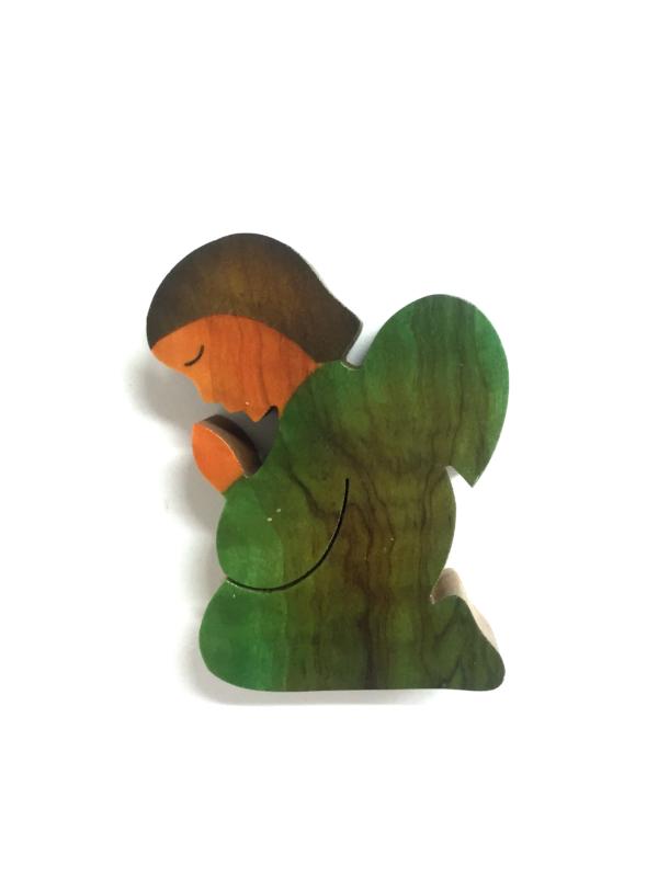 Angioletto colorato verde