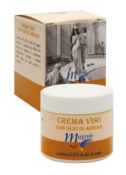 "Crema viso con olio di ARGAN 25% ""Magreb"""