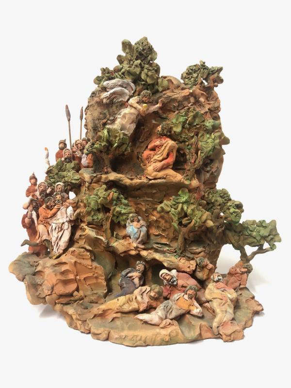 Getsemani – Orto degli ulivi in terracotta