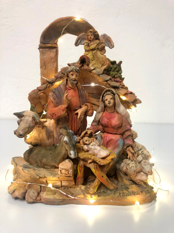 Presepe in terracotta n. 1