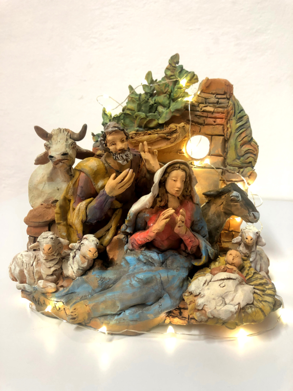Presepe in terracotta n. 3