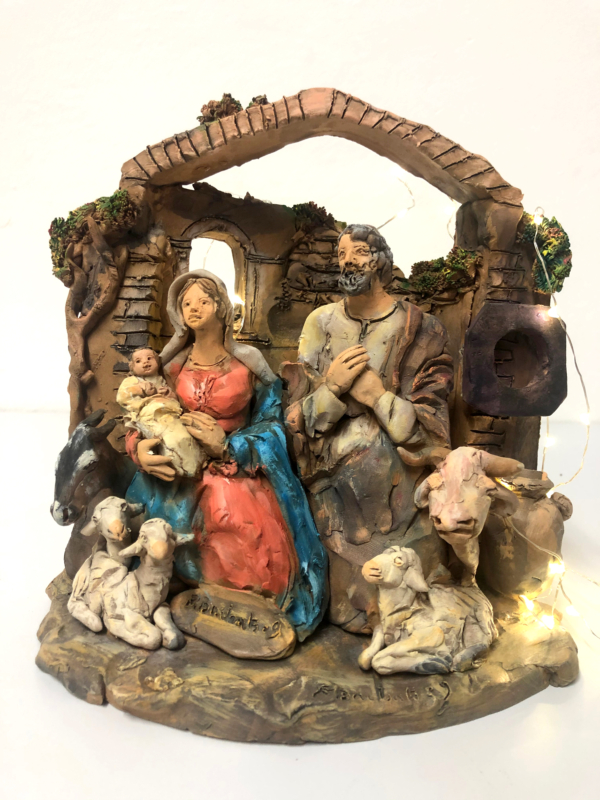 Presepe in terracotta n. 4
