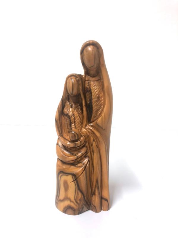 Sacra famiglia stilizzata – 15,5 cm