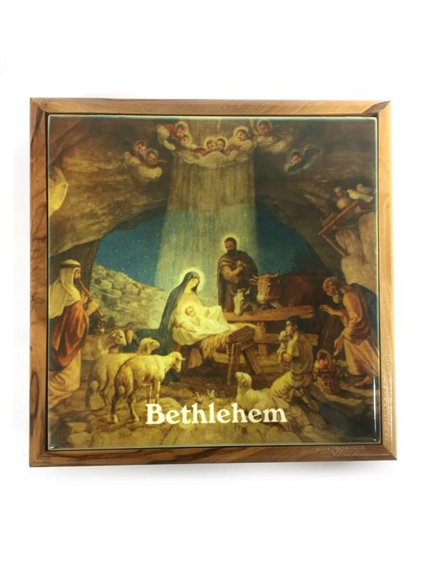 Scrigno di Betlemme con natività