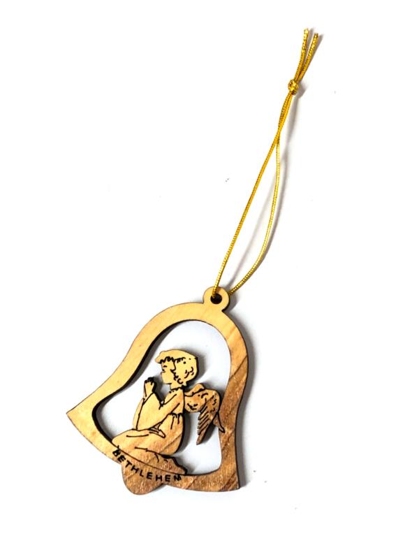 Addobbo campana con angelo