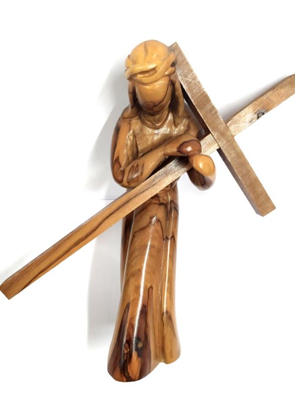 Gesù Cristo con croce – Calvario stilizzato