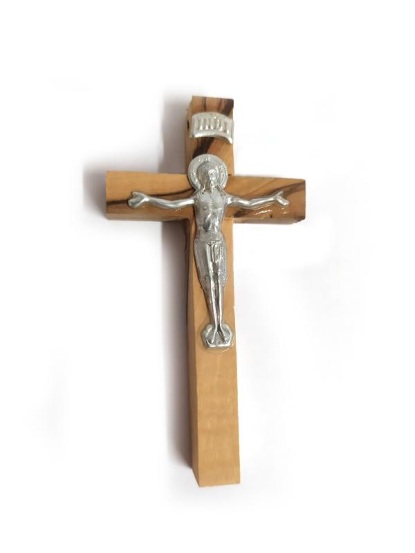 Crocefisso con Cristo argentato