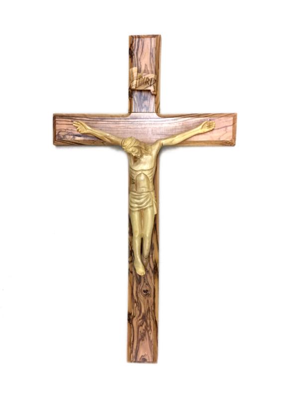 Crocefisso in legno con Cristo