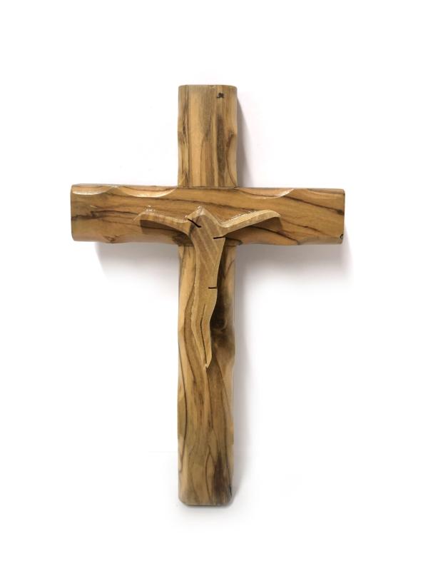 Crocefisso semplice con Cristo stlizzato